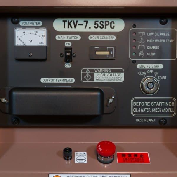 Дизельный генератор TOYO TKV-7,5SPC
