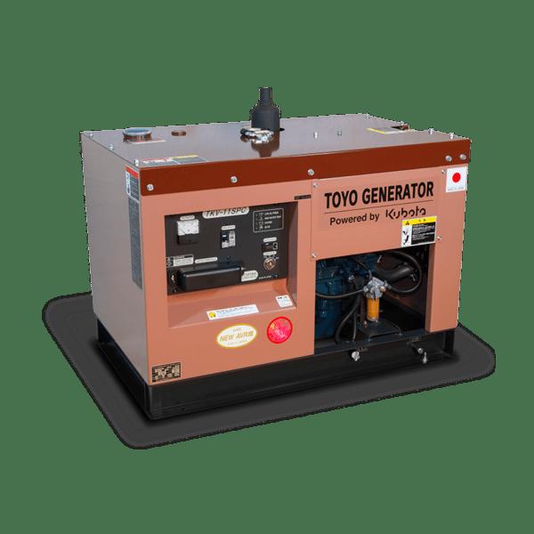 Дизель генератор TOYO TKV-11SPC