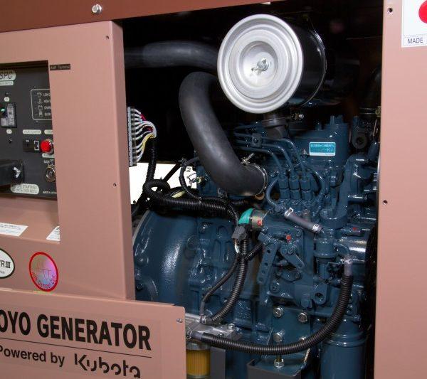 Дизель генератор TOYO TKV-15SPC06