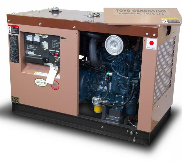 Дизель генератор TOYO TKV-20SPC05