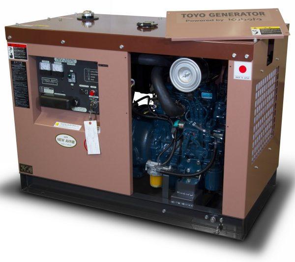 Дизель генератор TOYO TKV-20TPC05