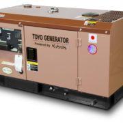 Дизельный генератор TOYO TKV-11SBS04