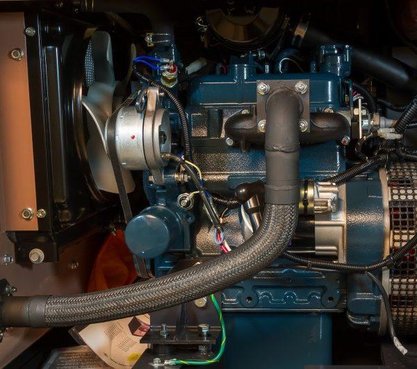 Дизельный генератор TOYO TKV-11SBS13