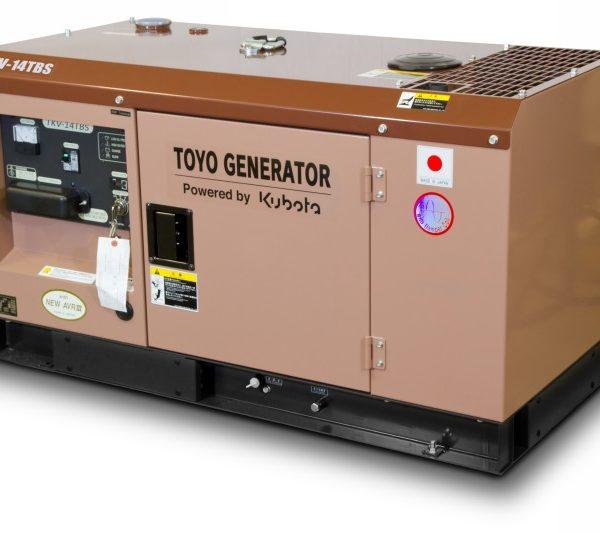 Дизельный генератор TOYO TKV-14TBS 04