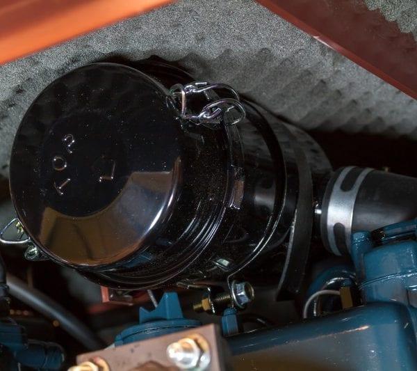 Дизельный генератор TOYO TKV-14TBS 09
