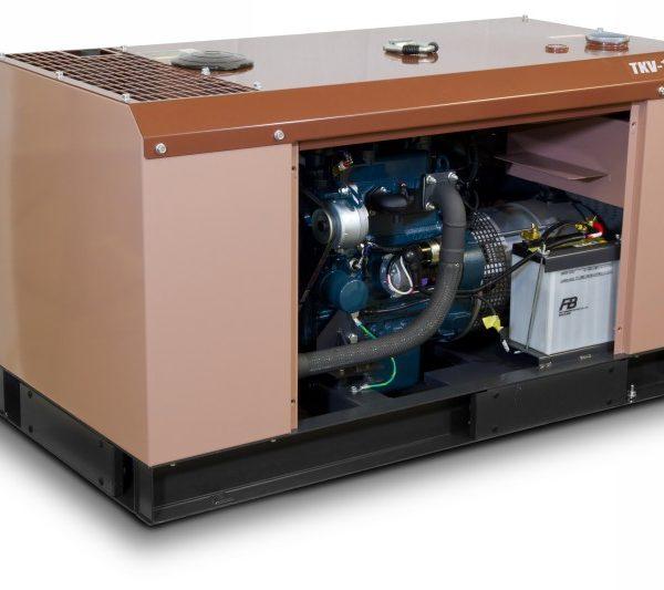 Дизельный генератор TOYO TKV-14TBS 20