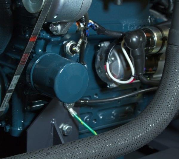 Дизельный генератор TOYO TKV-14TBS 23