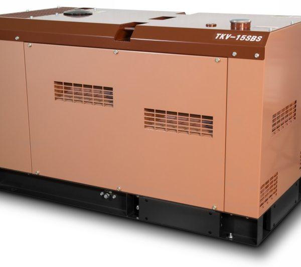 Дизельный генератор TOYO TKV-15SBS 12