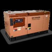 Дизельный генератор TOYO TKV-20SBS в шумозащитном кожухе