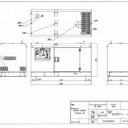 Дизельный генератор TOYO TKV-27TBS03