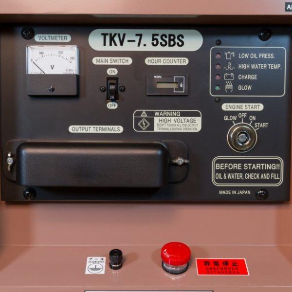 Дизельный генератор TOYO TKV-7-5SBS01