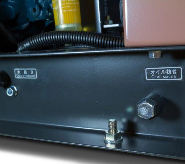 Дизельный генератор TOYO TKV-7-5SBS10