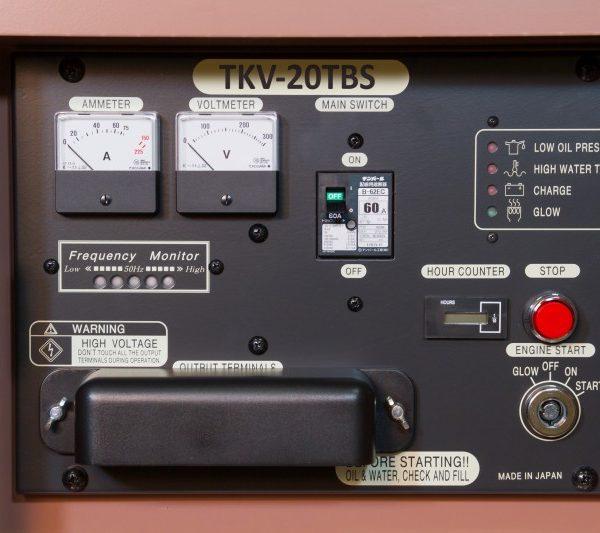 Дизельный генератор TOYO TKV-TKV-20TBS01
