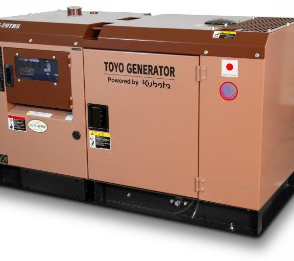 Дизельный генератор TOYO TKV-TKV-20TBS04