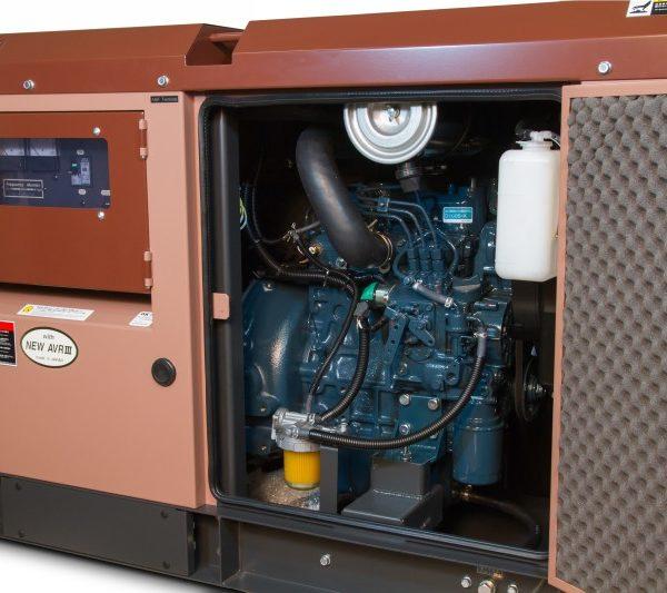 Дизельный генератор TOYO TKV-TKV-20TBS05