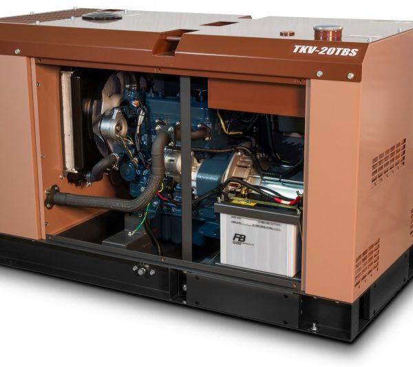 Дизельный генератор TOYO TKV-TKV-20TBS18