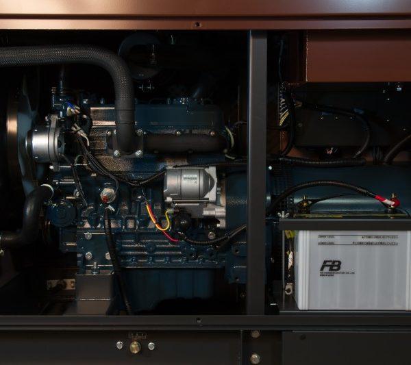 Дизельный генератор TOYO TKV-TKV-TKV-20SBS16