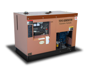 TOYO TKV-15SPC — дизельный генератор японского производства