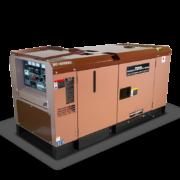 Сварочная электростанция дизель генератор TOYO DC-450KBS-220