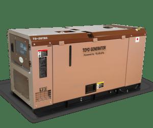 Дизель генератор TOYO TG-28TBS