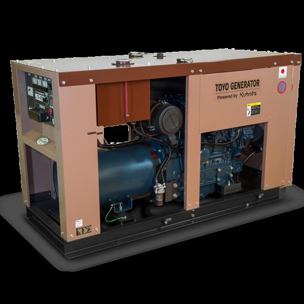 Дизель генератор TOYO TG-40TPC