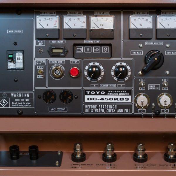 Дизельный генератор TOYO DC-450KBS-22001