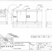 Дизельный генератор TOYO DC-450KBS-22003