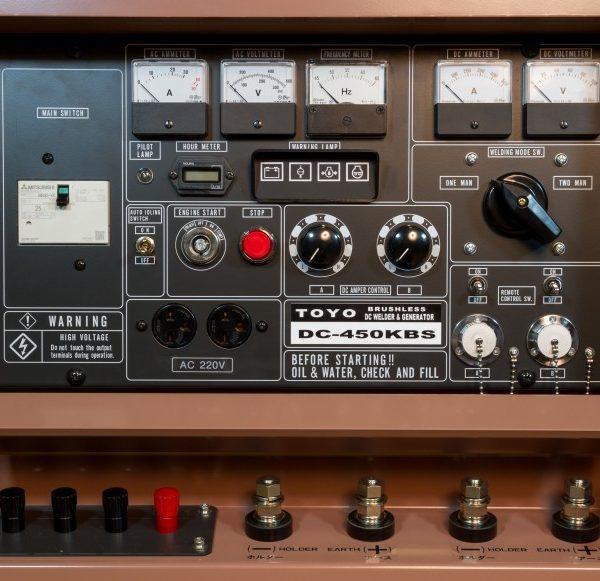Дизельный генератор TOYO DC-450KBS-38001