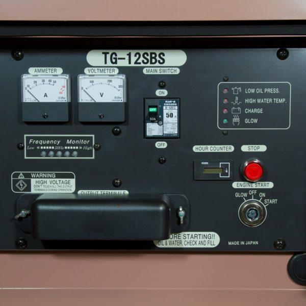 Дизельный генератор TOYO TG-12SBS01