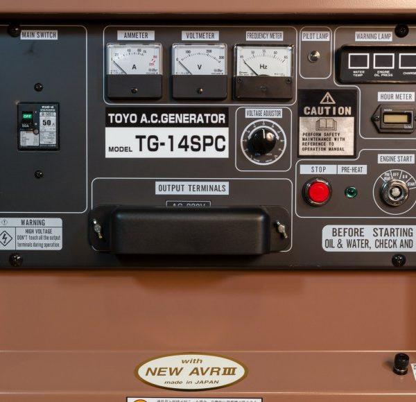 Дизельный генератор TOYO TG-14SPC01