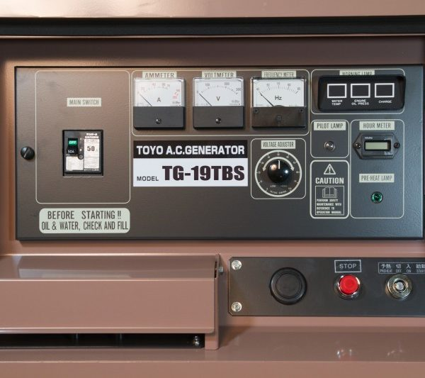 Дизельный генератор TOYO TG-19TBS01