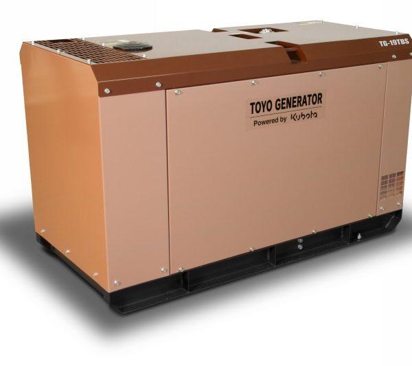 Дизельный генератор TOYO TG-19TBS23