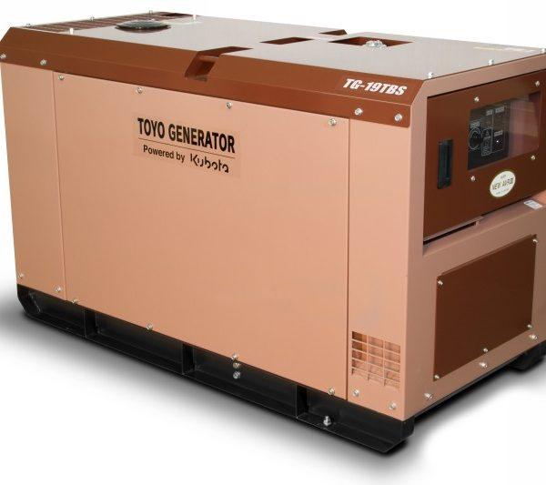 Дизельный генератор TOYO TG-19TBS24