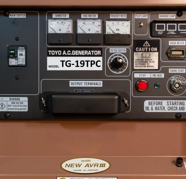 Дизельный генератор TOYO TG-19TPC01