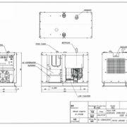 Дизельный генератор TOYO TG-19TPC03