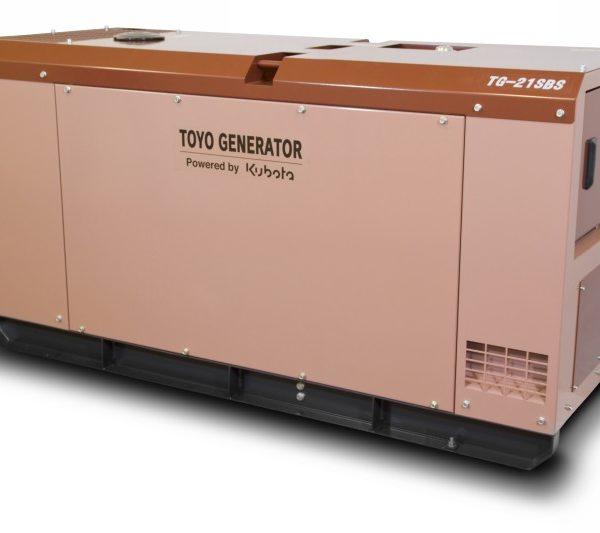 Дизельный генератор TOYO TG-21SBS25