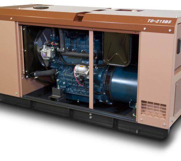 Дизельный генератор TOYO TG-21SBS26