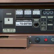 Дизельный генератор TOYO TG-28TBS01