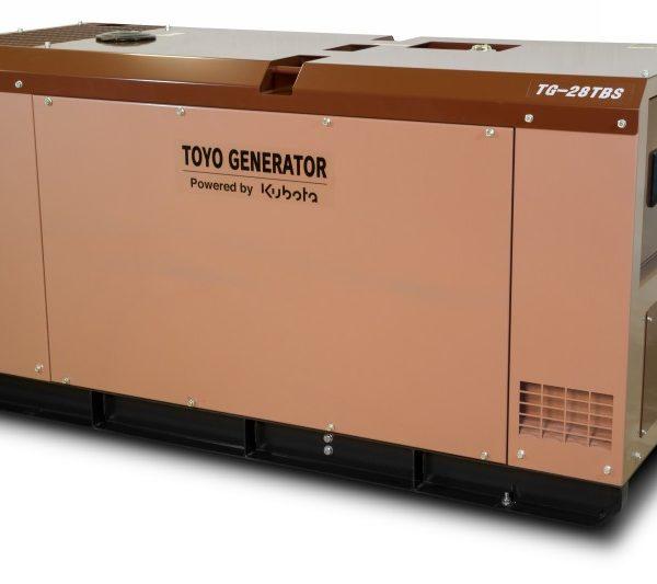 Дизельный генератор TOYO TG-28TBS21