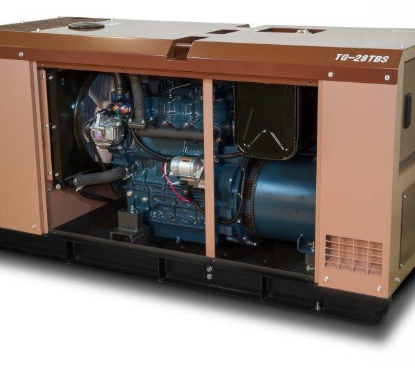 Дизельный генератор TOYO TG-28TBS22