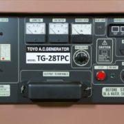 Дизельный генератор TOYO TG-28TPC01
