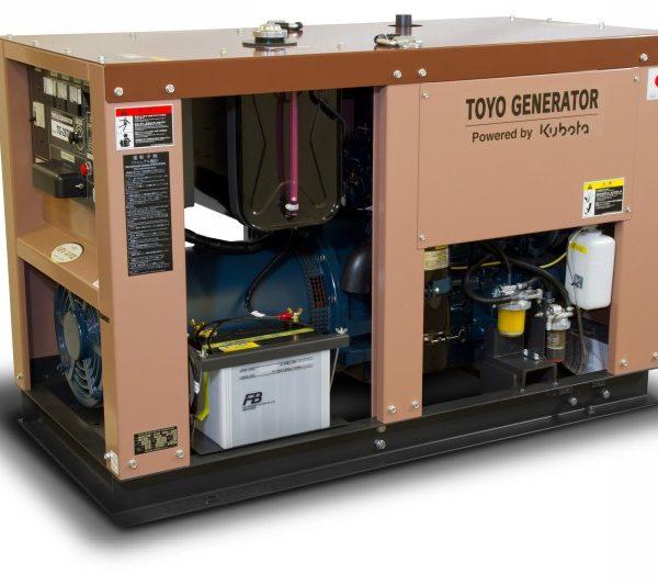 Дизельный генератор TOYO TG-28TPC03