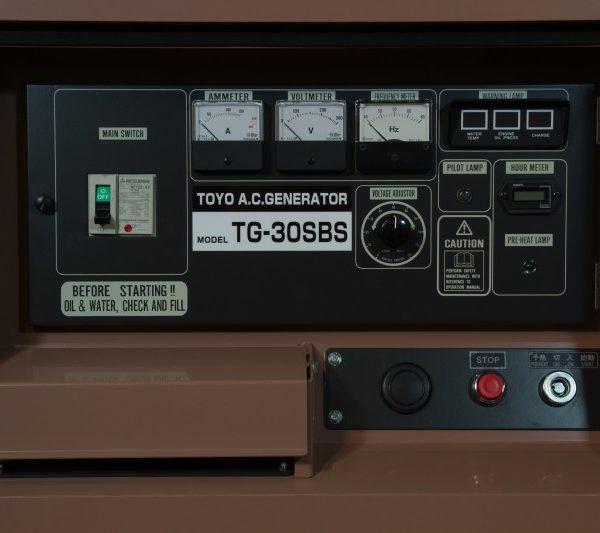 Дизельный генератор TOYO TG-30SBS01