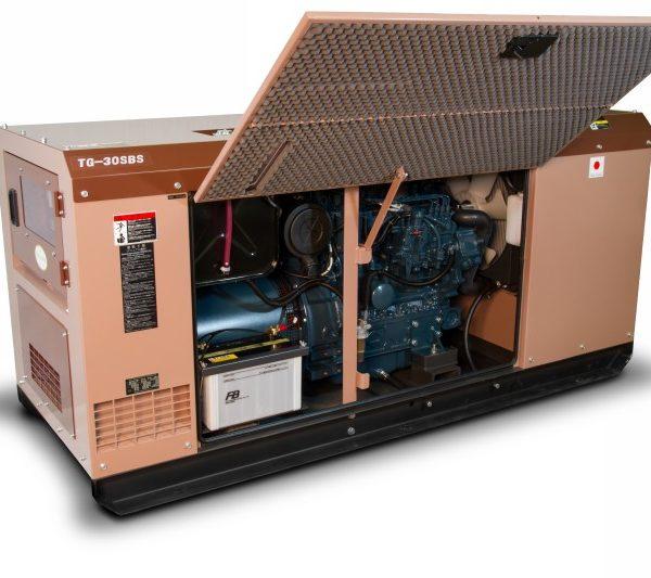 Дизельный генератор TOYO TG-30SBS09