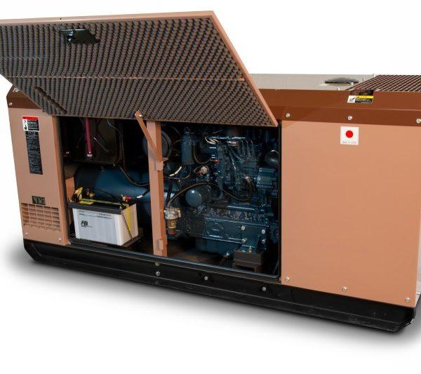 Дизельный генератор TOYO TG-30SBS10
