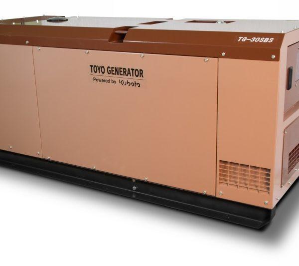 Дизельный генератор TOYO TG-30SBS28