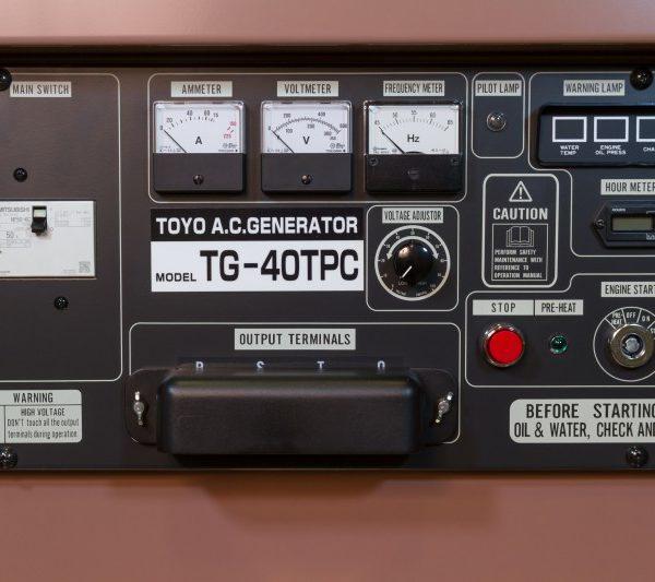 Дизельный генератор TOYO TG-30SPC02