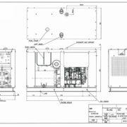 Дизельный генератор TOYO TG-30SPC04