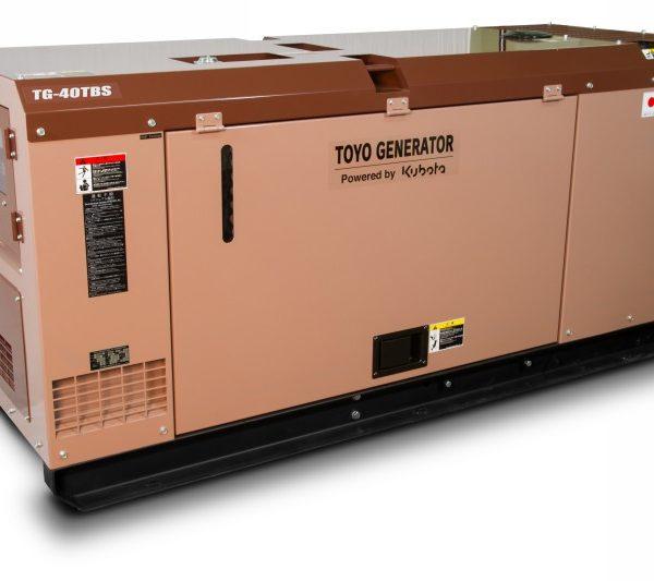 Дизельный генератор TOYO TG-40TBS09