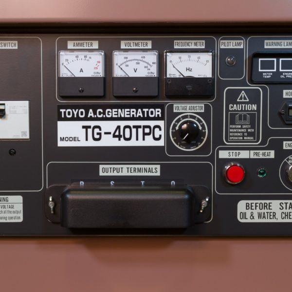 Дизельный генератор TOYO TG-40TPC01